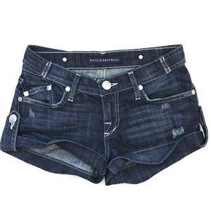 Rock & Republic Shorts - ROCK & REPUBLIC Simon Jean Short Shorts Size 25